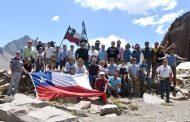 I Travesía San Fernando - Malargue unió Chile y Argentina por el Paso Las Damas