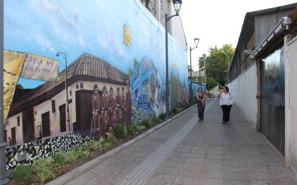 Rancagua: Pasaje Bomberos es convertido en un espacio más seguro y con una imagen renovada
