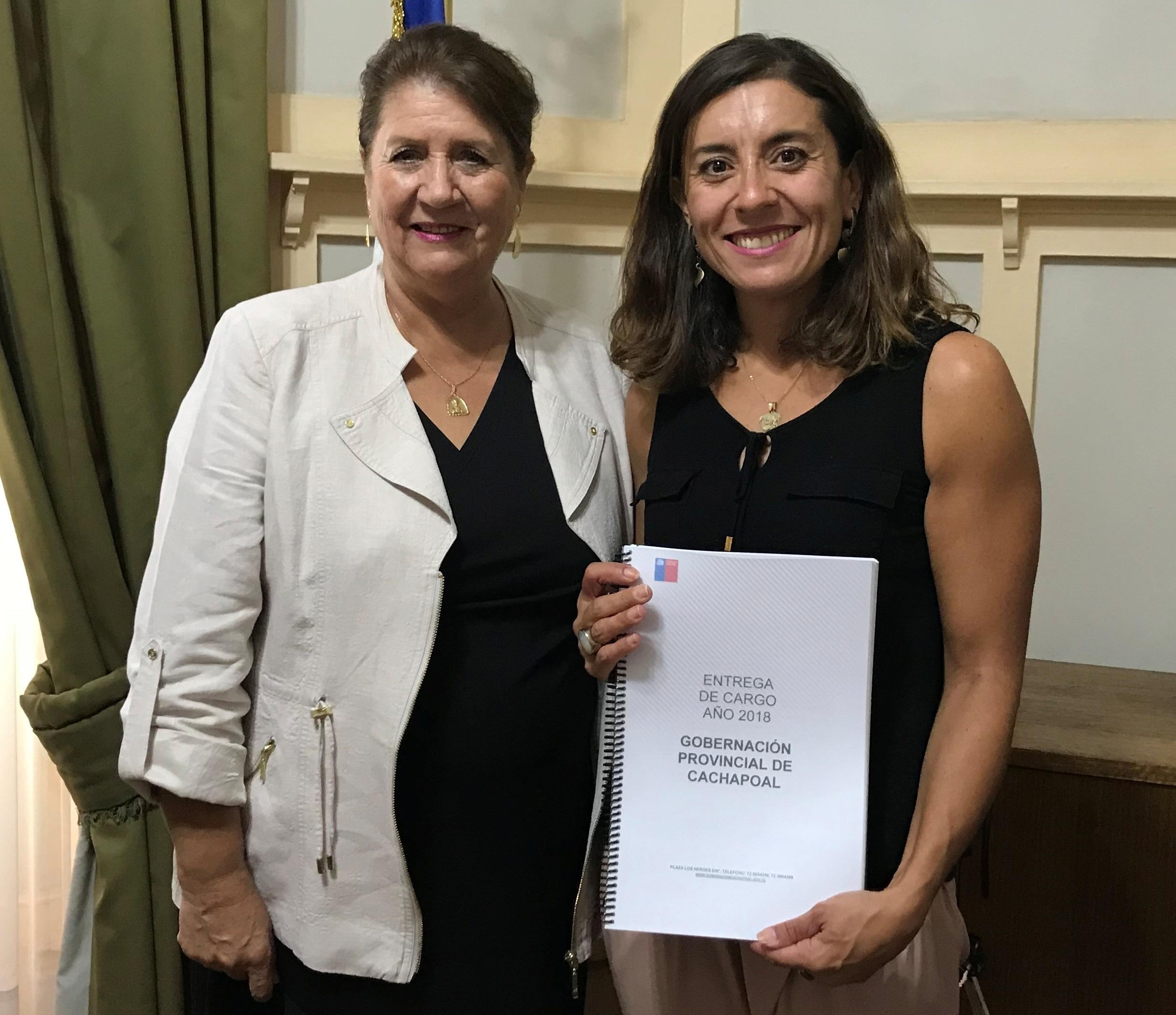 Nueva Gobernadora de Cachapoal: Ivonne Mangelsdorff asume como máxima autoridad provincial