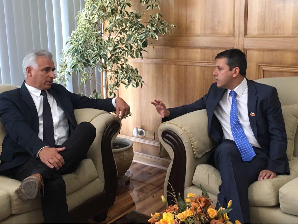 Futuro Intendente Juan Manuel Masferrer participa del Comité Policial y se reúne con intendente saliente