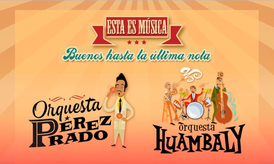 Orquesta Perez Prado y Orquesta Huambaly en Sun Monticello