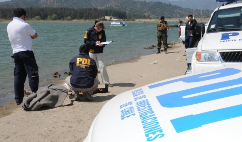 PDI Establece identidad de cadaver hallado en Lago Rapel
