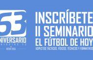 """O'Higgins invita a la segunda versión del Seminario """"El Fútbol de Hoy"""""""