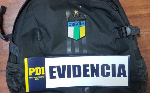 PDI logra detener a autores de robo a entrenador de O´Higgins