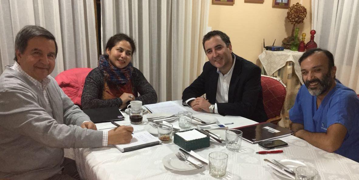 Colegio Médico de Rancagua se reúne con Seremi de Salud para trabajar en conjunto