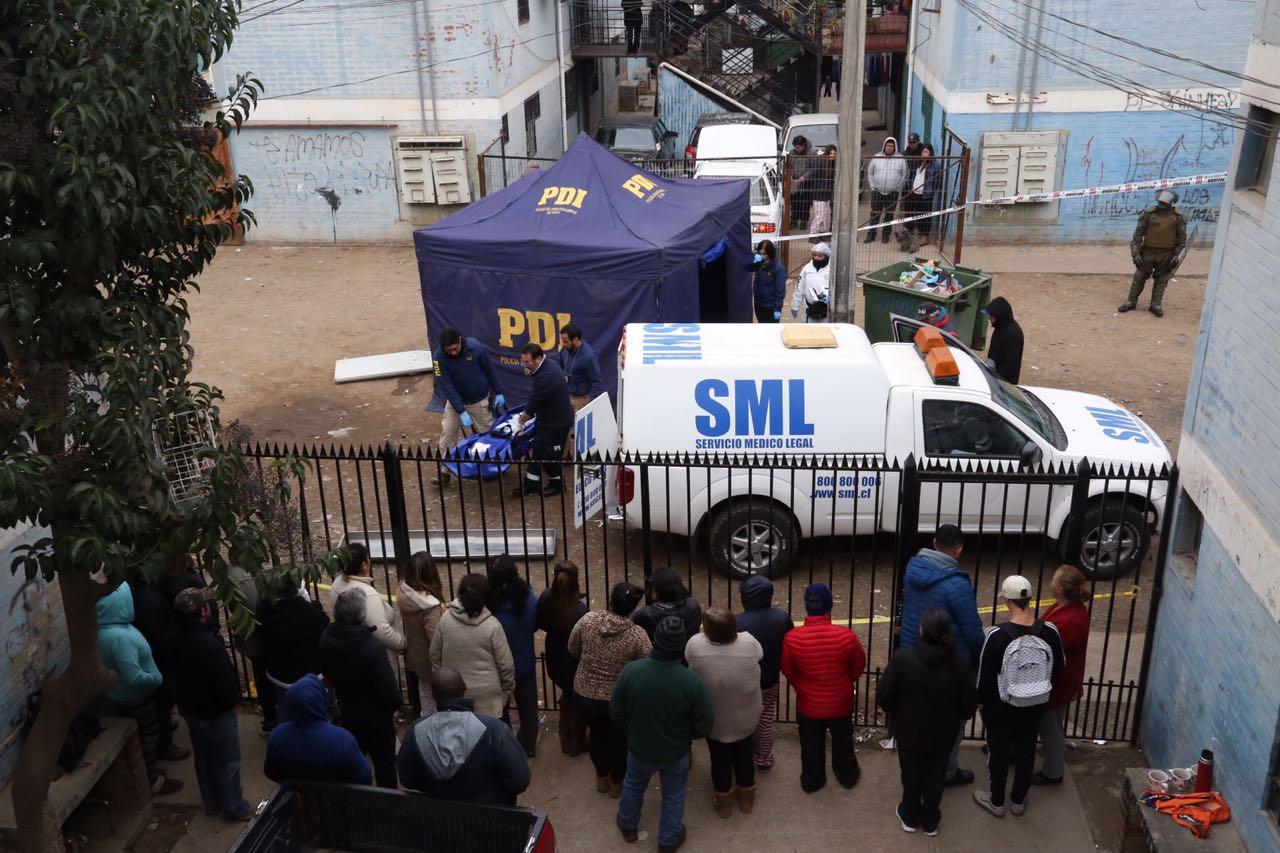 Detenido homicida de joven de 22 años de Población Baltazar Castro de Rancagua