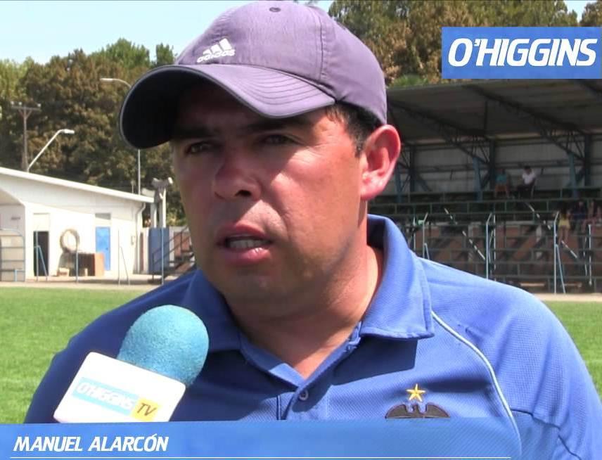 Manuel Alarcón asume como DT interino en O'Higgins