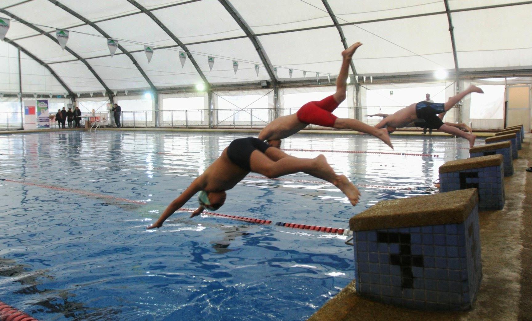 Juegos Binacionales 2018: Realizarán mejoramiento integral a piscina temperada de Graneros