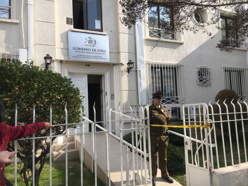 Millonario robo afecta a Seremi de Bienes Nacionales en Rancagua