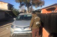 Carabineros recupera vehículo robado en la Seremi de Bienes Nacionales