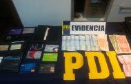 PDI de Pichilemu detiene a dos sujetos por robo al interior de una vivienda