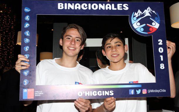 """Lanzaron oficialmente los """"XXI Juegos Binacionales de Integración Andina Cristo Redentor"""