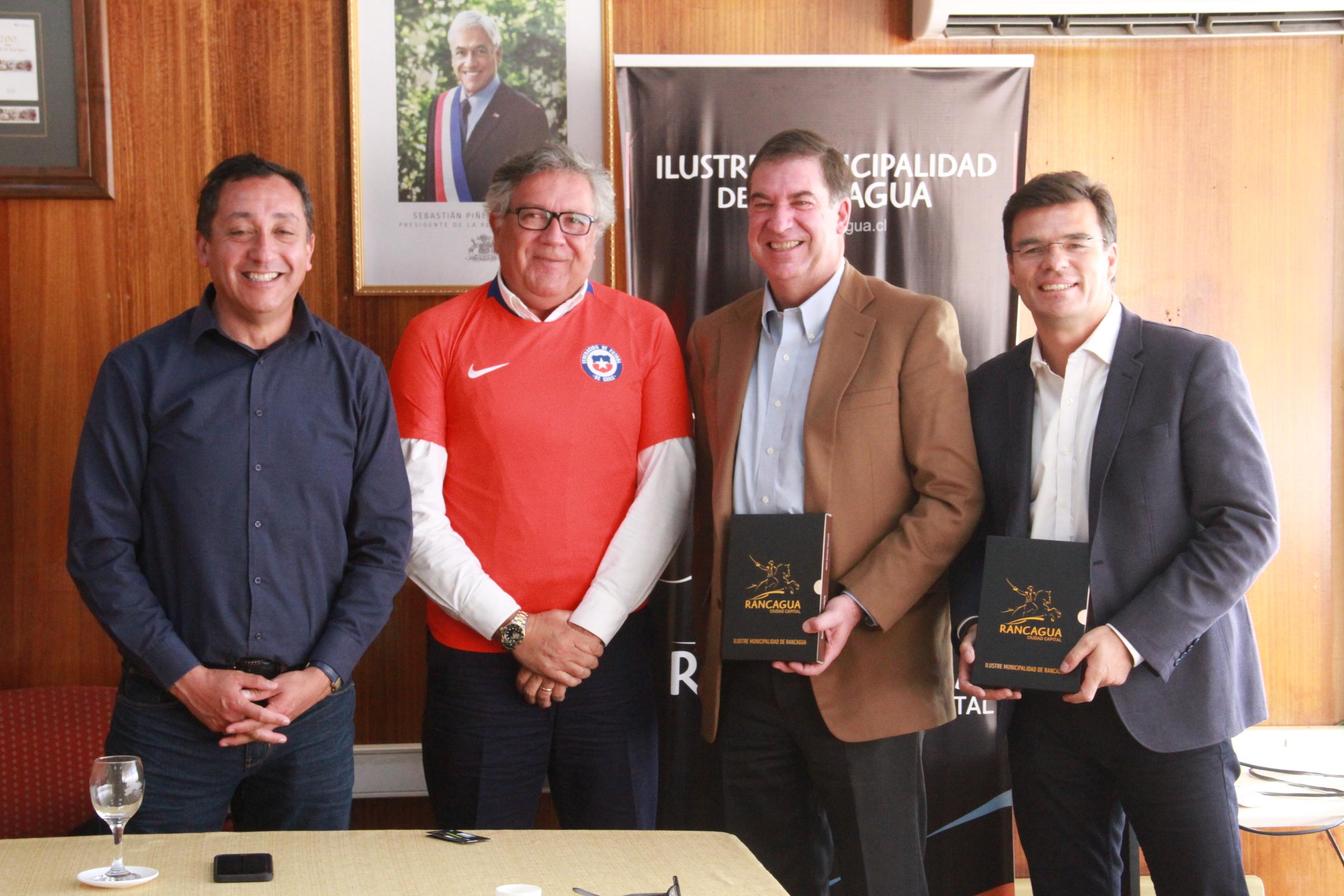 La Selección Adulta jugará ante Costa Rica en Rancagua