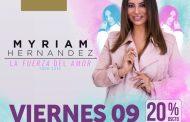 """Myriam Hernández inicia su tour 2018 """"La fuerza del amor"""" en Gran Arena Monticello"""