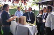 Autoridades visitan nuevo emprendimiento hotelero en San Fernando
