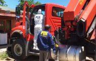 PDI Recupera tres camiones avaluados en más de 200 millones de pesos