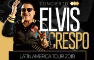 """Elvis Crespo vuelve a Chile con """"Diomedizao Tour"""" y a celebrar 20 años de """"Suavemente"""""""