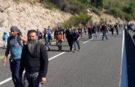 52 detenidos deja movilización al interior de la División El Teniente