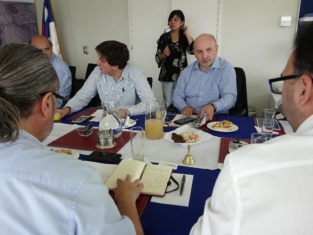 Diputado Castro (PS) anuncia proyecto de ley que regulará extracción de áridos