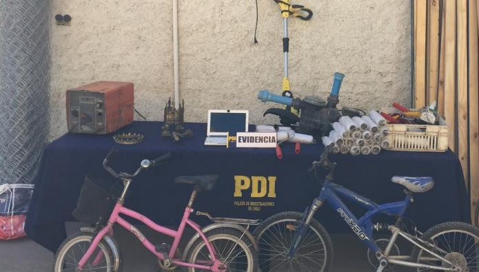 Detectives detienen a sujeto  especialista en robo de bicicletas
