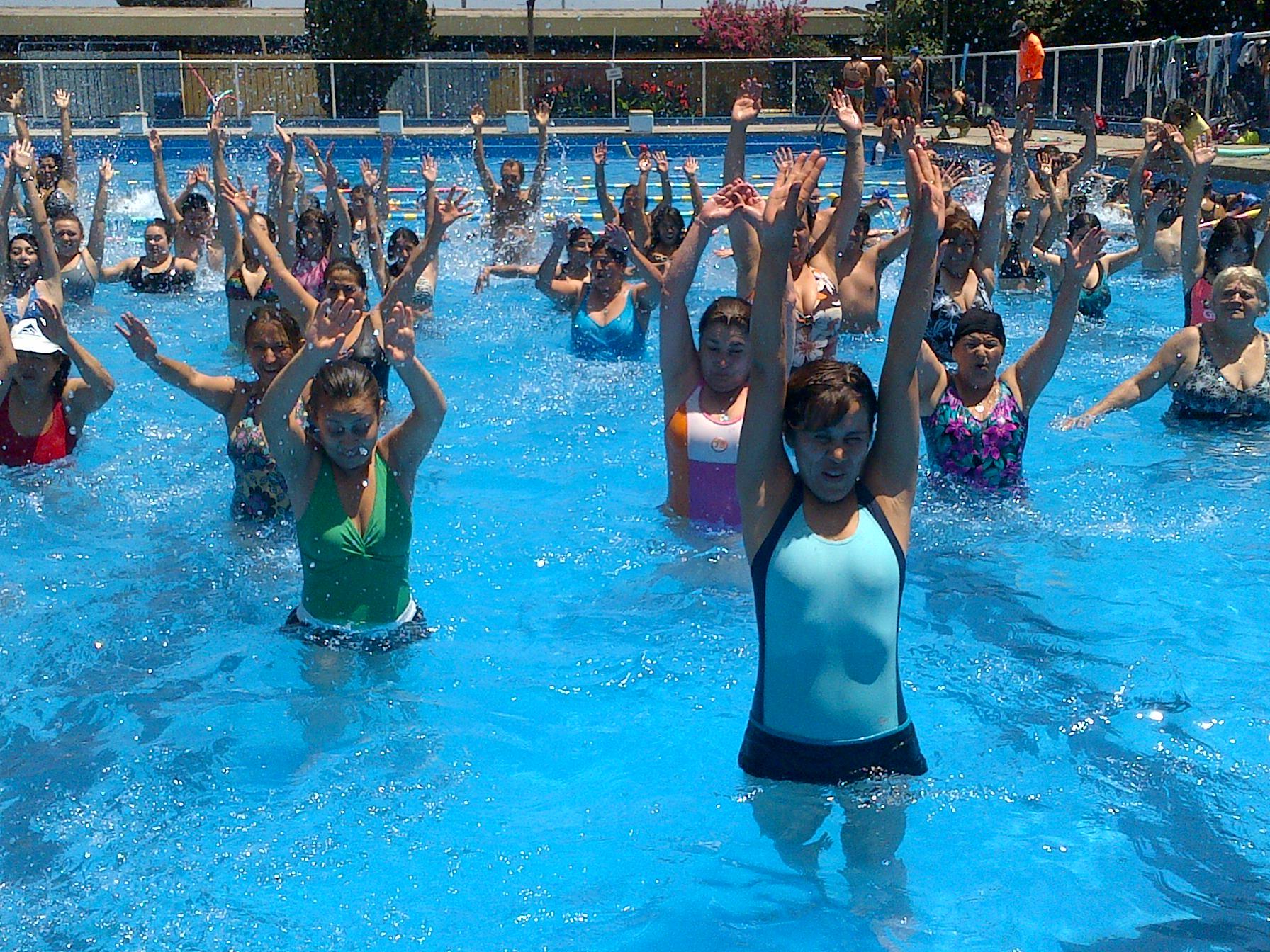 Hidrogimnasia y natación adaptada gratuita en Rancagua