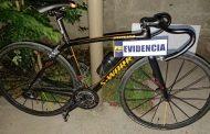 PDI recupera exclusiva bicicleta de competencia en Graneros