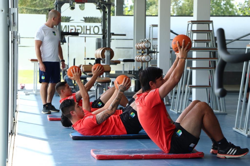 O'Higgins FC inició los trabajos de pretemporada en el Monasterio Celeste