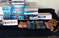 PDI incauta cigarros de contrabando en Santa Cruz