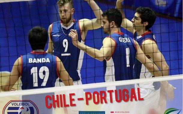 Selección Nacional Masculina de Vóleibol enfrentará a Portugal en Rancagua