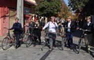 Líderes mundiales del uso de bicicletas visitaron Rancagua