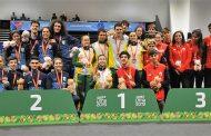 """Esgrimistas del """"Promesas Chile"""" Se subieron al podio en el Sudamericano de Lima"""