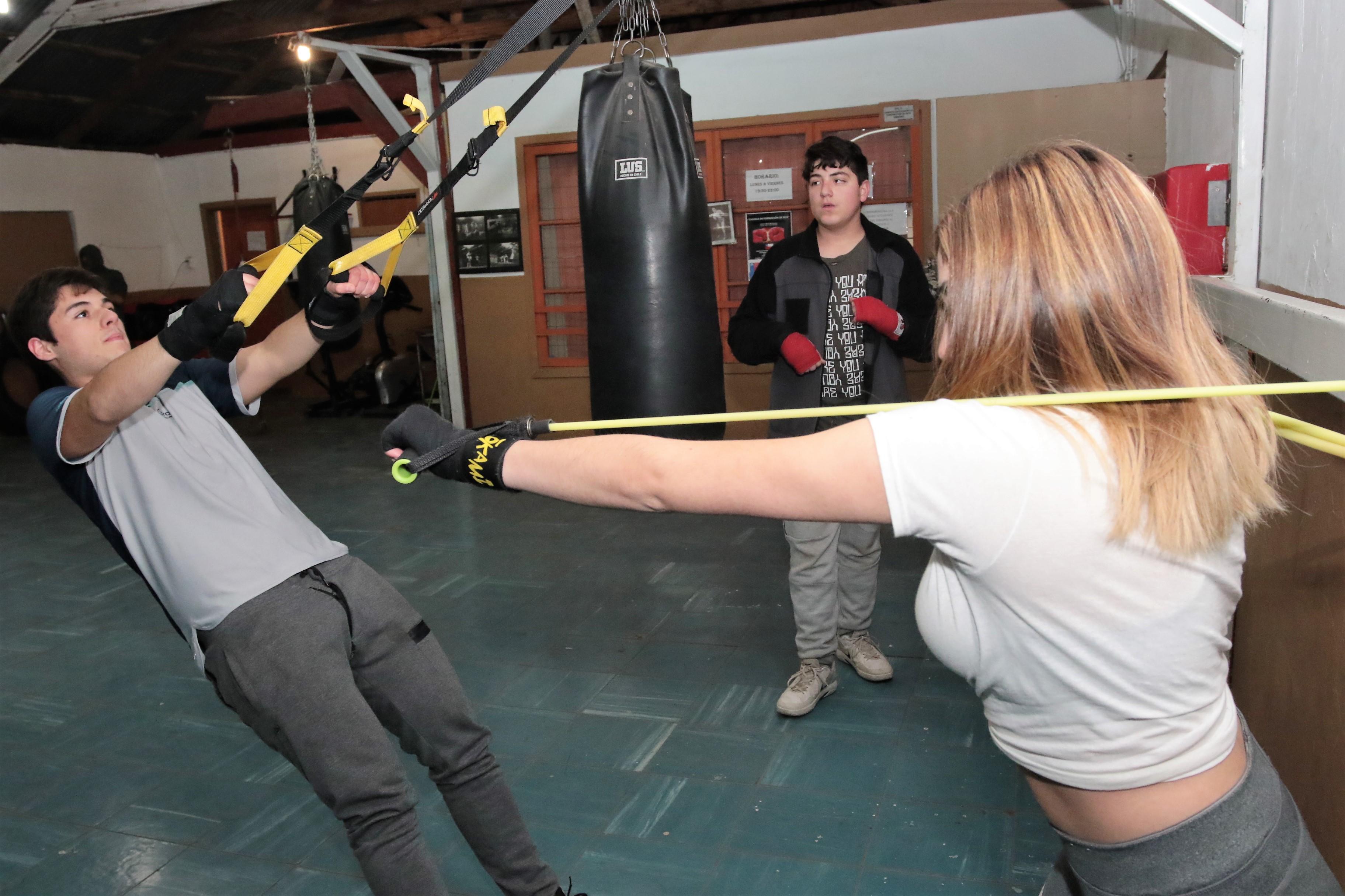 Nuevo Taller Gratuito: Boxeo para Damas y Varones en Rancagua