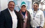 Deportista de 84 años ganó Torneo Nacional de Natación en Graneros