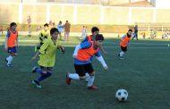 Cientos de niños entre los 11 y 12 años participaron de masivo de fútbol