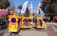 Rancagua celebró el Día del Niño con diversas entretenciones