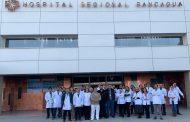 Médicos del Hospital Regional se manifestaron en contra de las agresiones a los profesionales de la salud