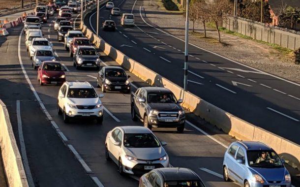 Mitigación vial por fin de semana largo podría traer problemas a rancagüinos