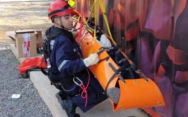 Mineros, Bomberos y Carabineros aprueban curso de Rescate financiado por la Seremi de Minería