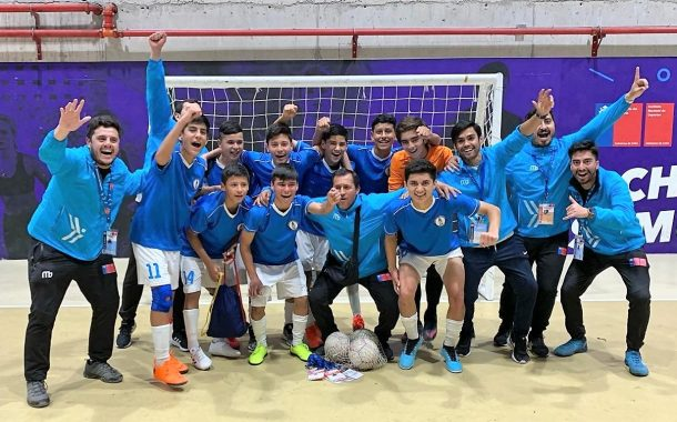 ¡Campeones Nacionales!: Región de O'Higgins obtiene la corona en futsal