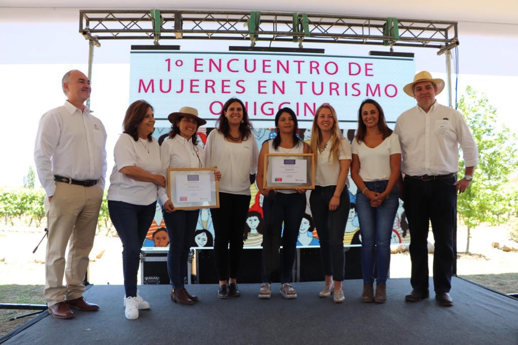Directora Nacional de Sernatur encabeza exitoso Primer Encuentro de Mujeres de Turismo Región O'Higgins