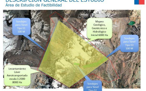 Inician estudio de factibilidad para la Construcción Túnel Internacional Paso Las Leñas