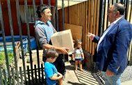 Graneros cambia Show Pirotécnico por caja de Navideñas