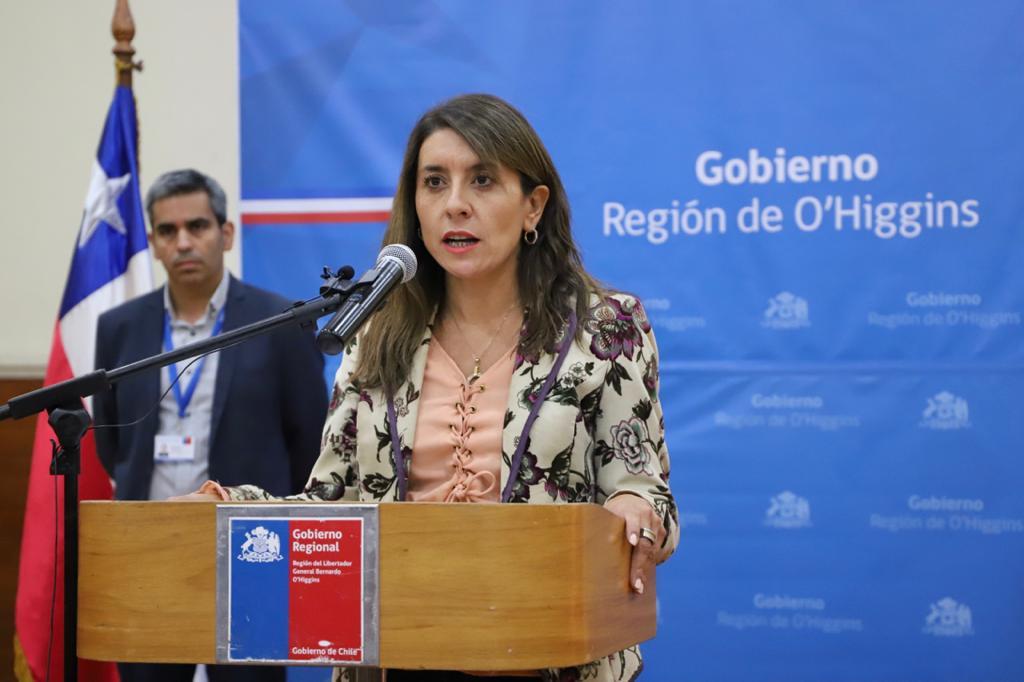 Gobernadora Ivonne Mangesldorff:
