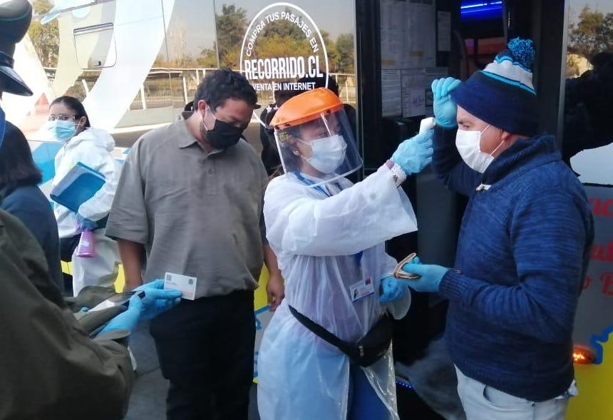 Uso de mascarillas en transporte público: Cerca de 5 mil personas ya han sido fiscalizadas
