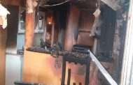 Mujer se lanzó desde tercer piso en medio de incendio provocado por su ex pareja