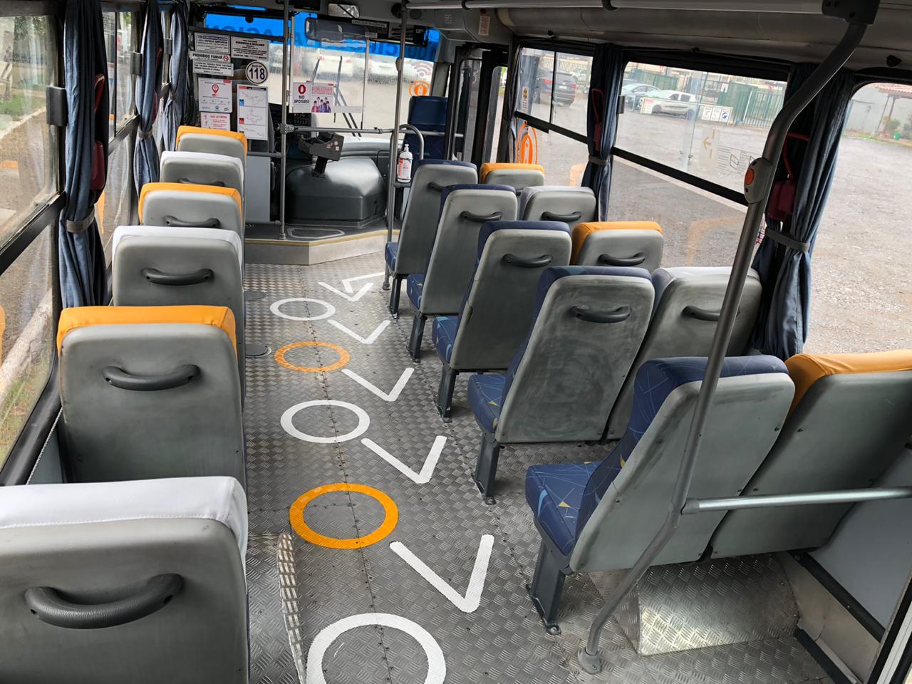 Expreso Rancagua y Municipalidad concretan colaboración para implementar sistema de distancia física en buses