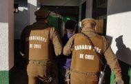 Intensas diligencias de Carabineros permitieron aclarar robo que afectó a vivienda en Rancagua.