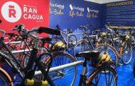 Inauguran estacionamientos de bicicletas en estación de Metrotren de Rancagua