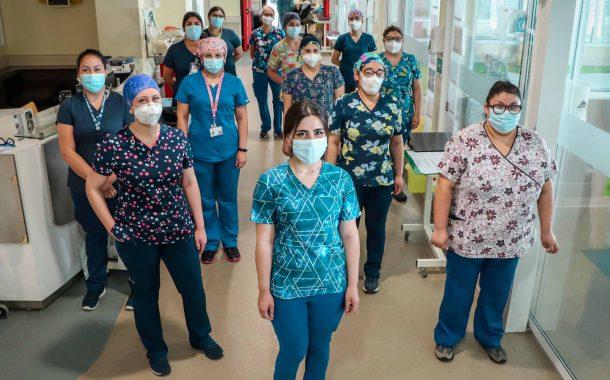 El crucial trabajo del equipo de enfermería intensivista en pandemia