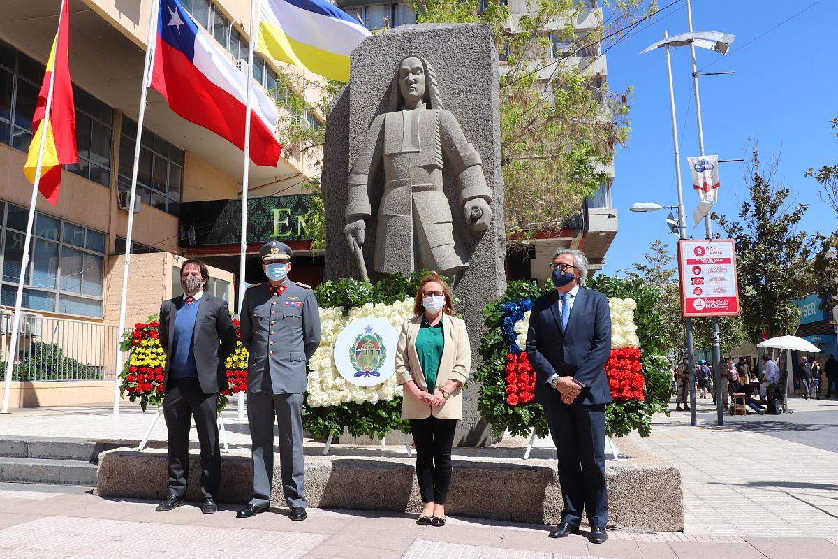 Rancagua cumple 277 años desde su fundación